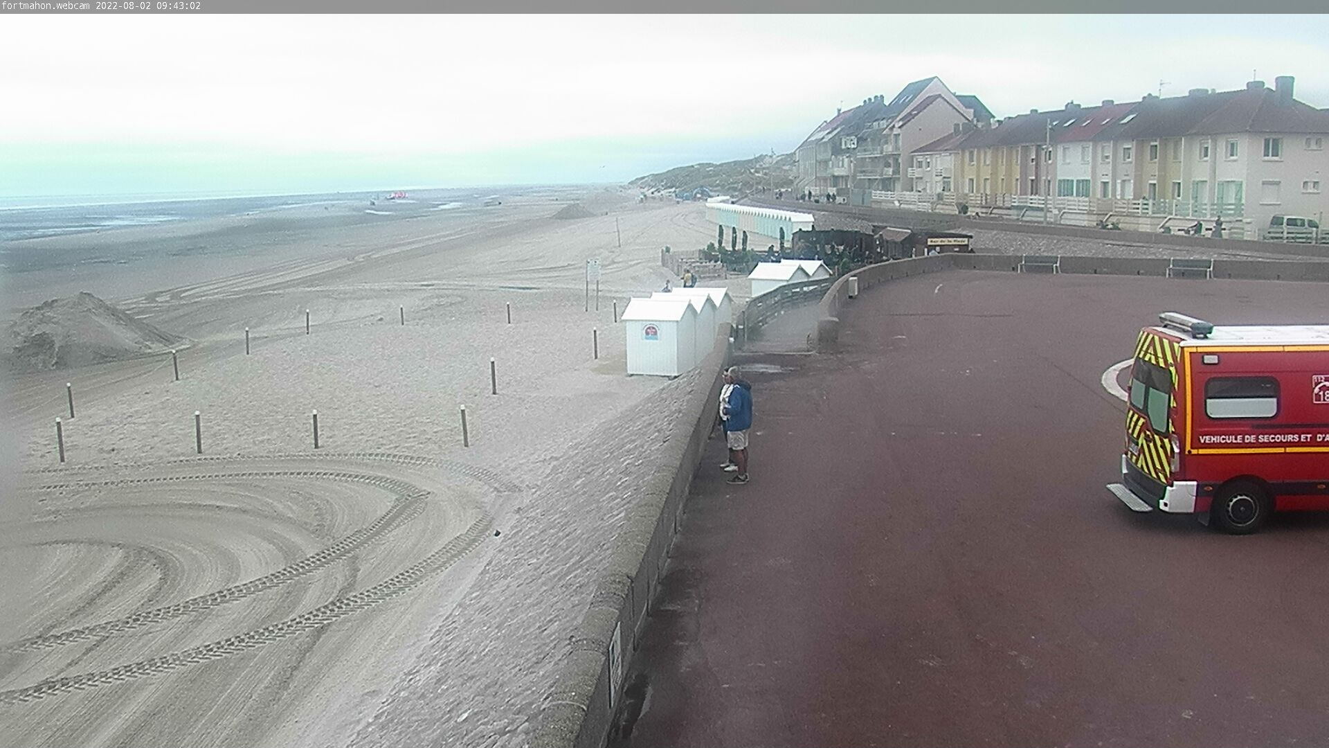 webcam Fort-Mahon-Plage